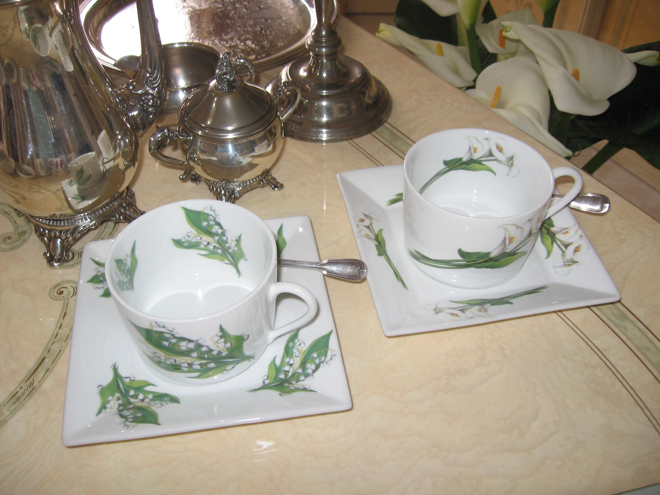 Art de la table porcelaine porcelaine fine de limoges - La table du bistrot limoges ...